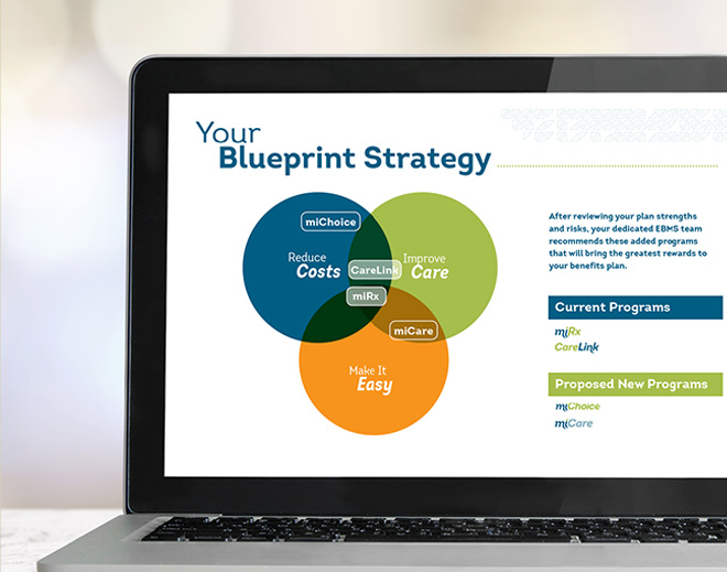 EBMS miInsights Blueprint Strategy data analytics