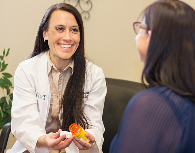 EBMS miRx patient-centered counseling personal pharmacist services