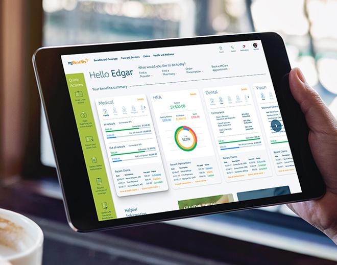 EBMS TPA next-generation benefit plan portal for members