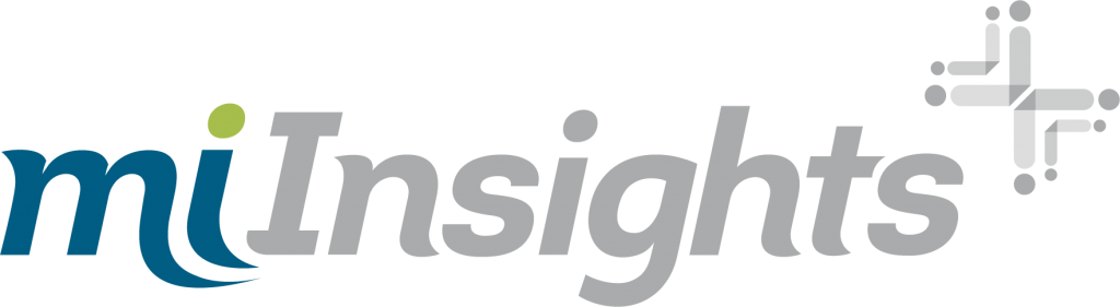 EBMS miInsights logo reporting and analytics big data benefit plan